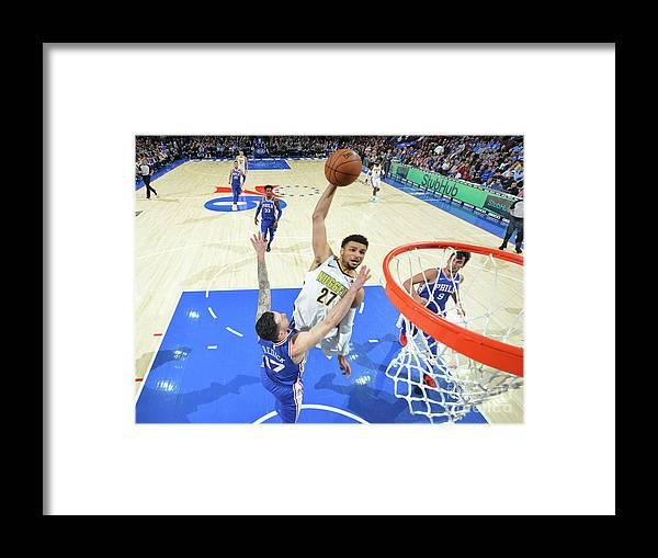 Sports Ball Framed Print featuring the photograph Jamal Murray by Jesse D. Garrabrant