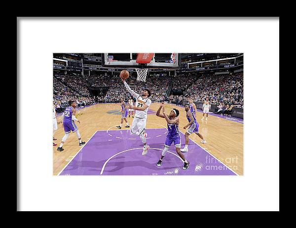 Nba Pro Basketball Framed Print featuring the photograph Jamal Murray by Rocky Widner