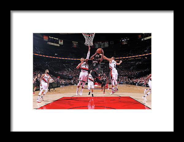 Nba Pro Basketball Framed Print featuring the photograph James Harden by Sam Forencich