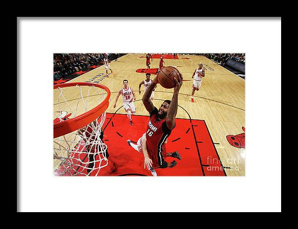 Nba Pro Basketball Framed Print featuring the photograph James Johnson by Gary Dineen