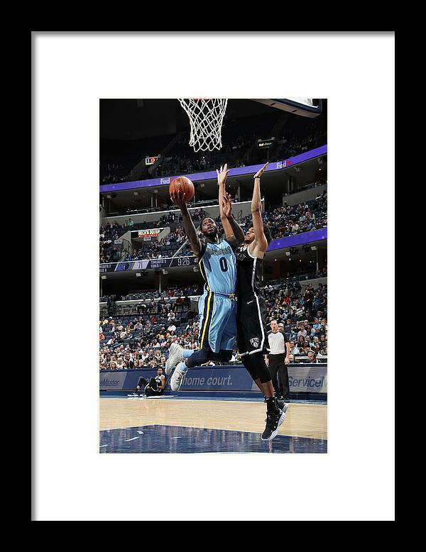 Nba Pro Basketball Framed Print featuring the photograph Jamychal Green by Joe Murphy