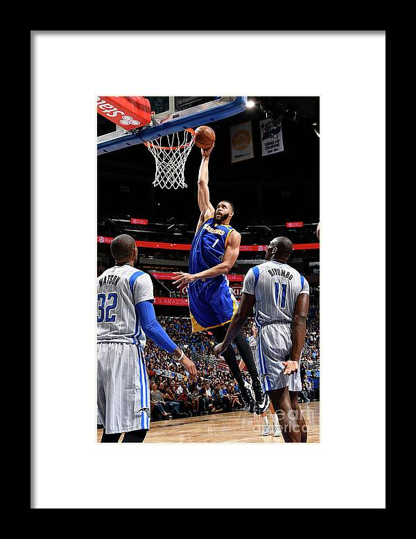 Nba Pro Basketball Framed Print featuring the photograph Javale Mcgee by Fernando Medina