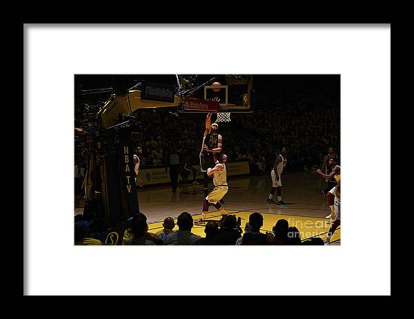 Playoffs Framed Print featuring the photograph Javale Mcgee by Garrett Ellwood