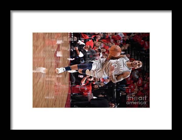 Playoffs Framed Print featuring the photograph Jeff Teague by Bill Baptist