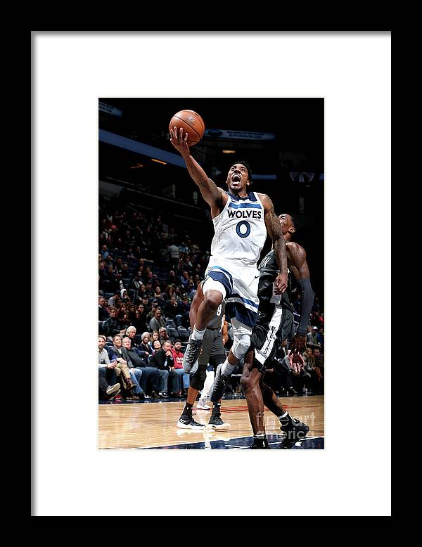 Nba Pro Basketball Framed Print featuring the photograph Jeff Teague by David Sherman