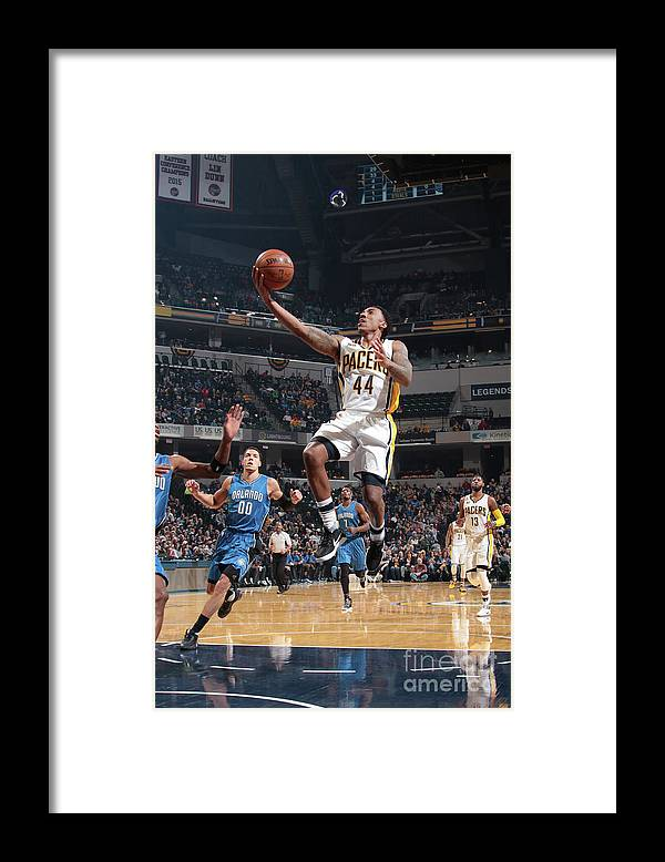 Nba Pro Basketball Framed Print featuring the photograph Jeff Teague by Ron Hoskins
