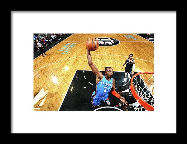 Nba Pro Basketball Framed Print featuring the photograph Jerami Grant by Nathaniel S. Butler