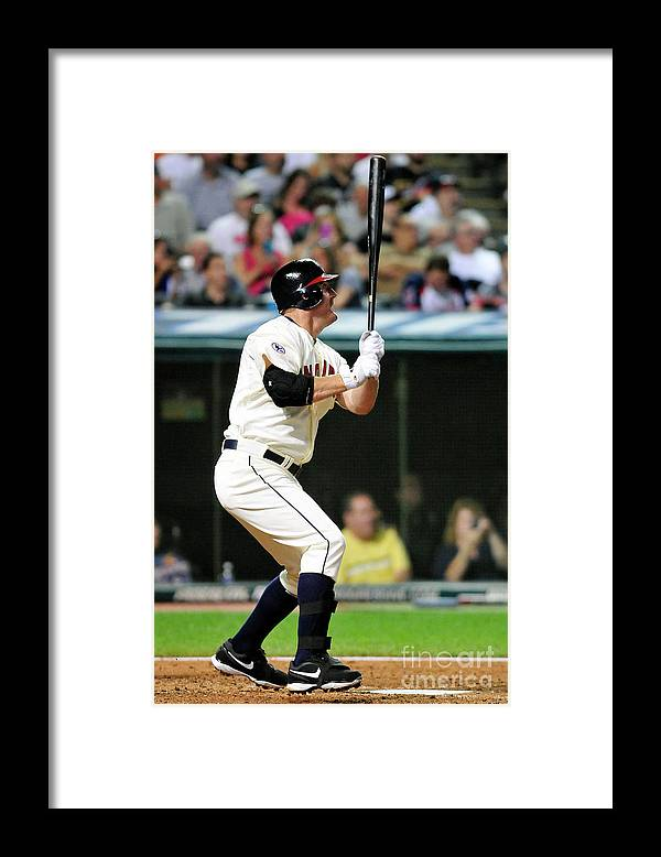 People Framed Print featuring the photograph Jim Thome by Jason Miller