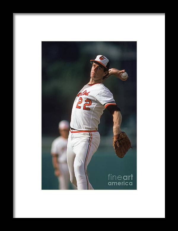 1980-1989 Framed Print featuring the photograph Jim York by Rich Pilling