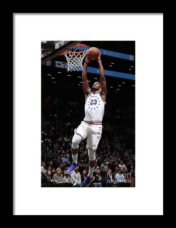 Playoffs Framed Print featuring the photograph Jimmy Butler by Nathaniel S. Butler