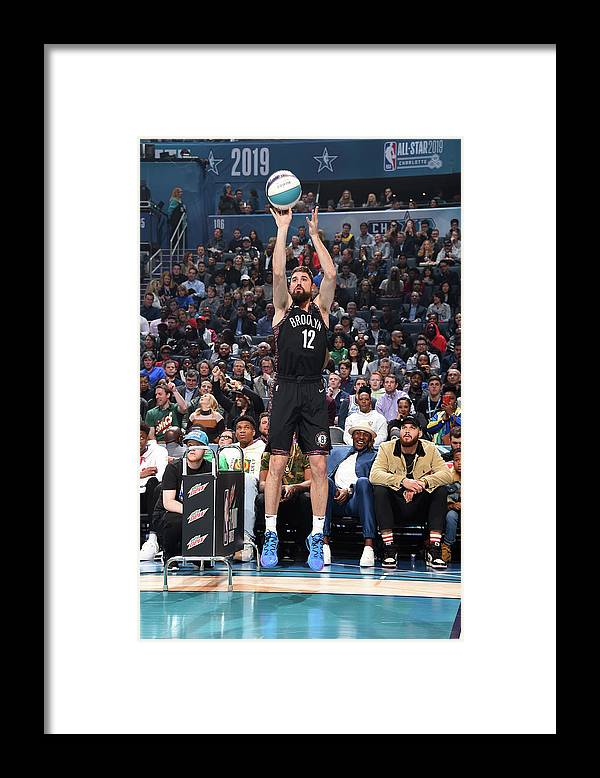 Nba Pro Basketball Framed Print featuring the photograph Joe Harris by Andrew D. Bernstein