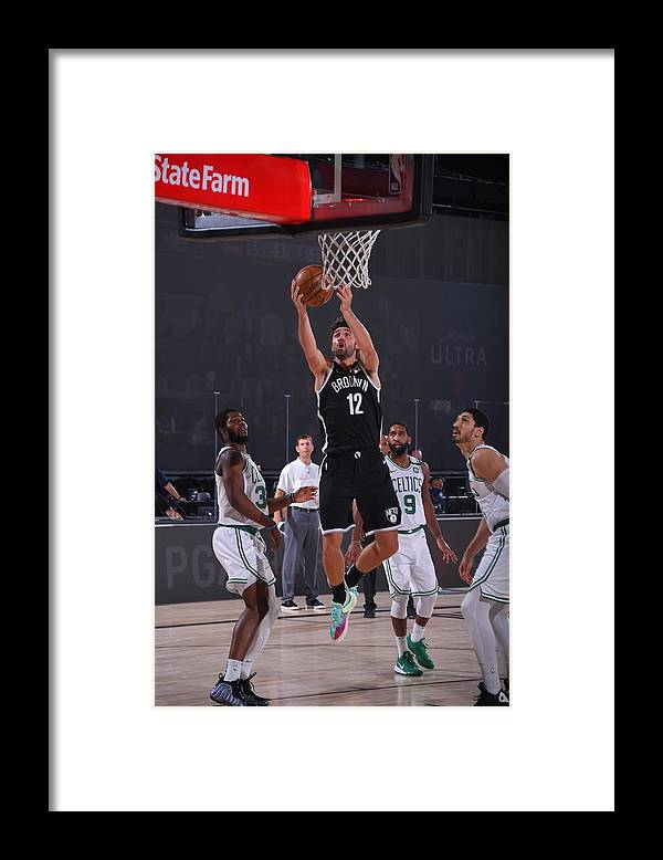 Nba Pro Basketball Framed Print featuring the photograph Joe Harris by Bill Baptist