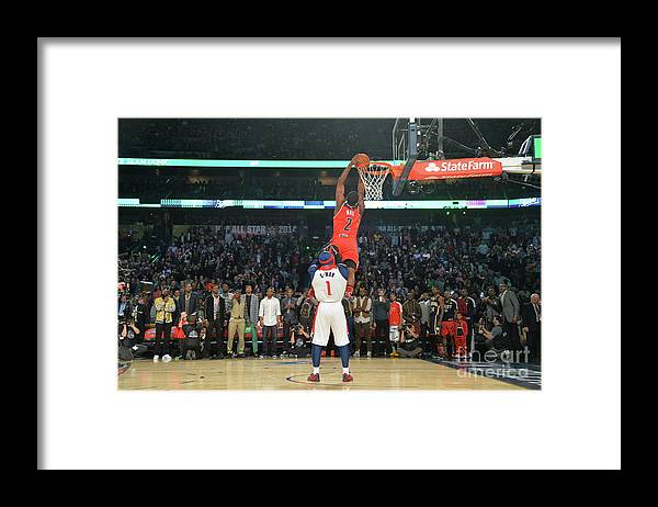 Smoothie King Center Framed Print featuring the photograph John Wall by Jesse D. Garrabrant