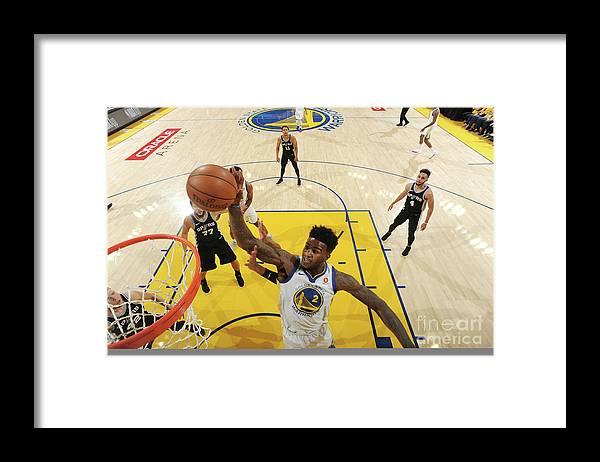 Playoffs Framed Print featuring the photograph Jordan Bell by Andrew D. Bernstein