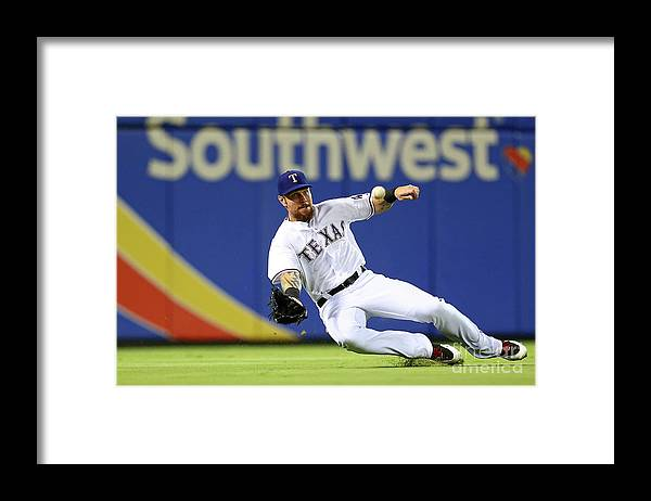People Framed Print featuring the photograph Josh Hamilton by Sarah Crabill