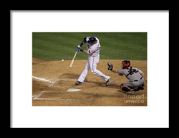People Framed Print featuring the photograph Josh Hamilton by Stephen Dunn