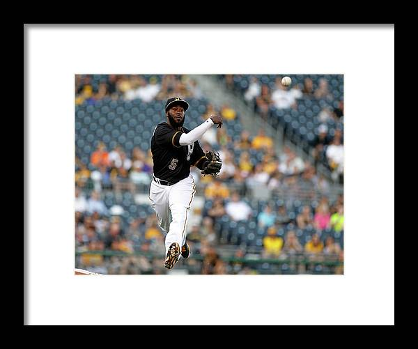 People Framed Print featuring the photograph Josh Harrison by Justin K. Aller