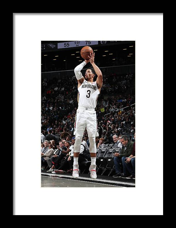 Nba Pro Basketball Framed Print featuring the photograph Josh Hart by Nathaniel S. Butler