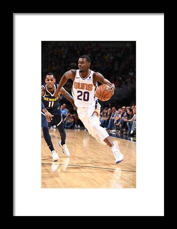 Nba Pro Basketball Framed Print featuring the photograph Josh Jackson by Garrett Ellwood