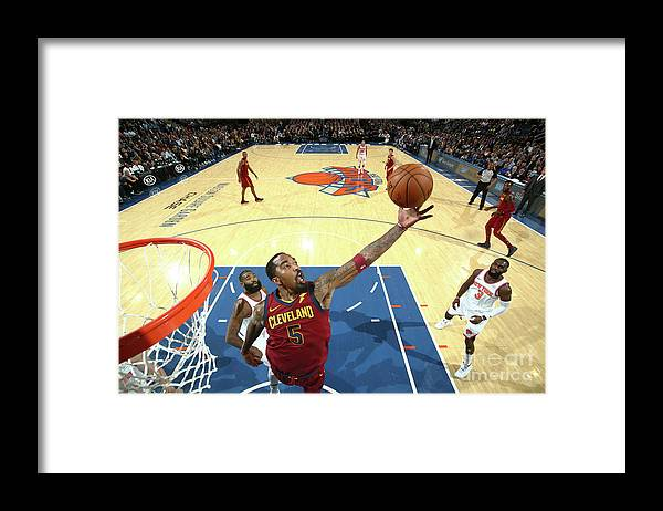 Nba Pro Basketball Framed Print featuring the photograph J.r. Smith by Nathaniel S. Butler