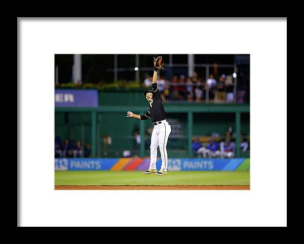 People Framed Print featuring the photograph Jung Ho Kang by Jared Wickerham