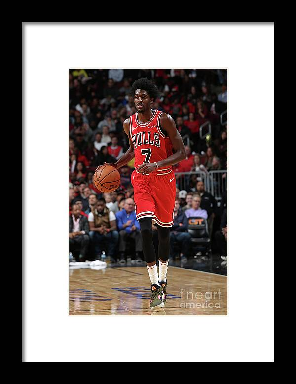 Nba Pro Basketball Framed Print featuring the photograph Justin Holiday by Gary Dineen
