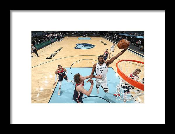Justise Winslow Framed Print featuring the photograph Justise Winslow by Joe Murphy