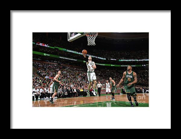 Nba Pro Basketball Framed Print featuring the photograph Kelly Olynyk by Brian Babineau