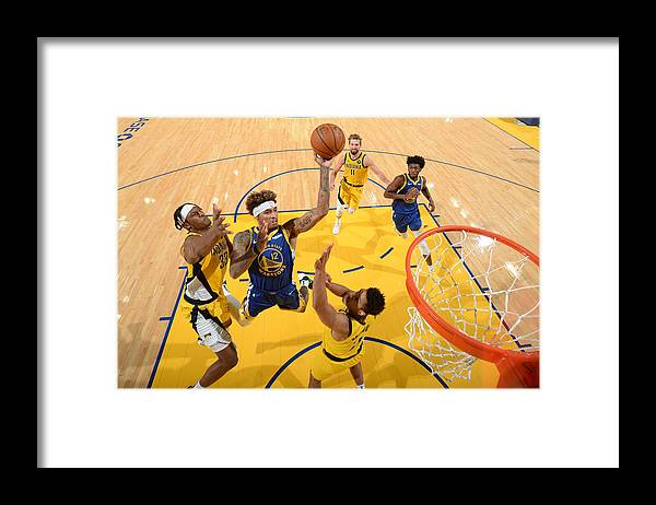 San Francisco Framed Print featuring the photograph Kelly Oubre by Noah Graham