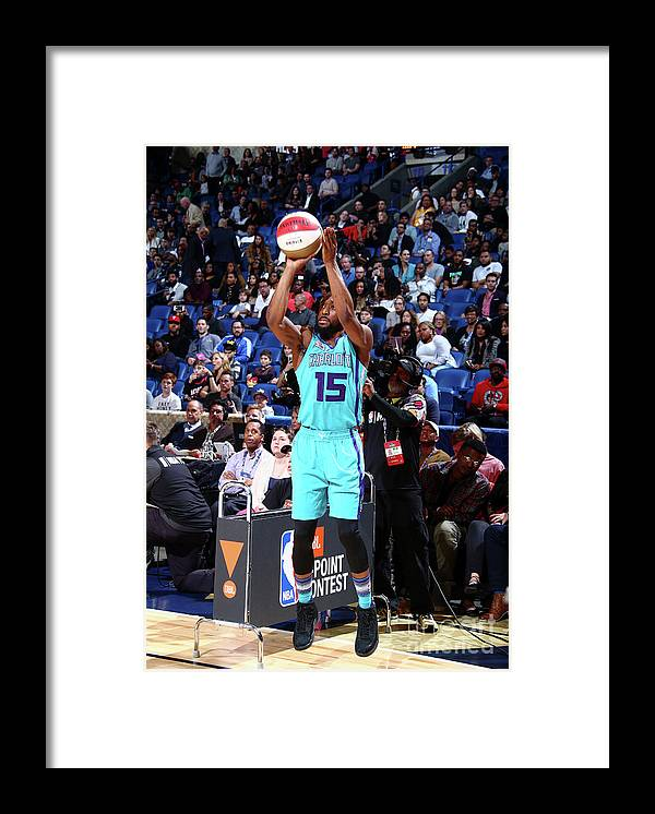 Event Framed Print featuring the photograph Kemba Walker by Nathaniel S. Butler