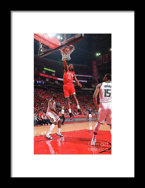 Playoffs Framed Print featuring the photograph Kenneth Faried by Bill Baptist