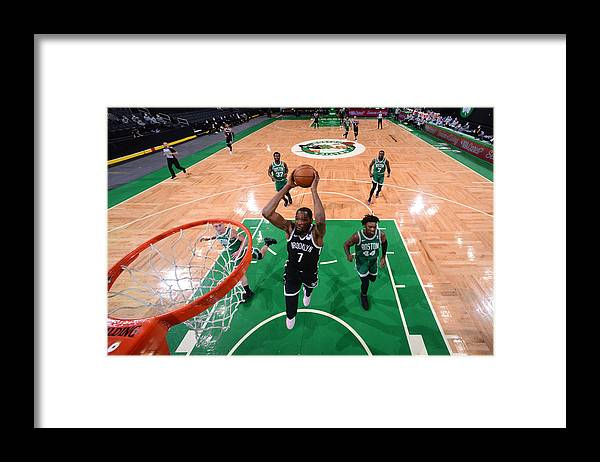Nba Pro Basketball Framed Print featuring the photograph Kevin Durant by Brian Babineau