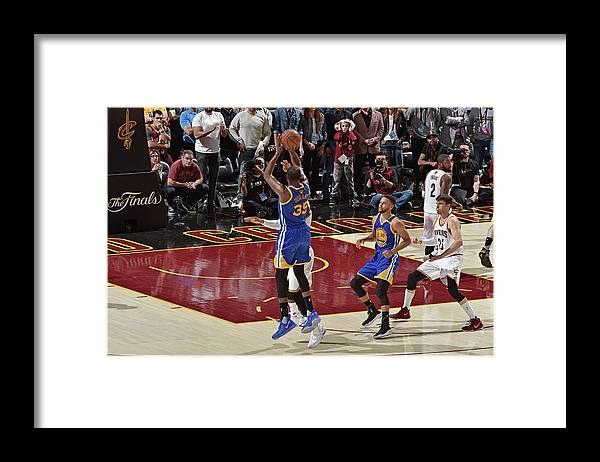 Playoffs Framed Print featuring the photograph Kevin Durant by David Liam Kyle