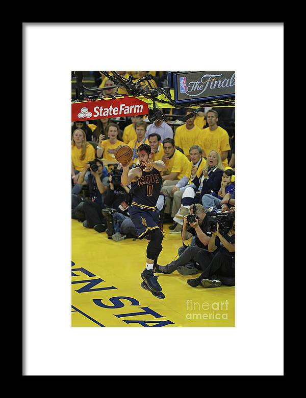 Playoffs Framed Print featuring the photograph Kevin Love by Joe Murphy