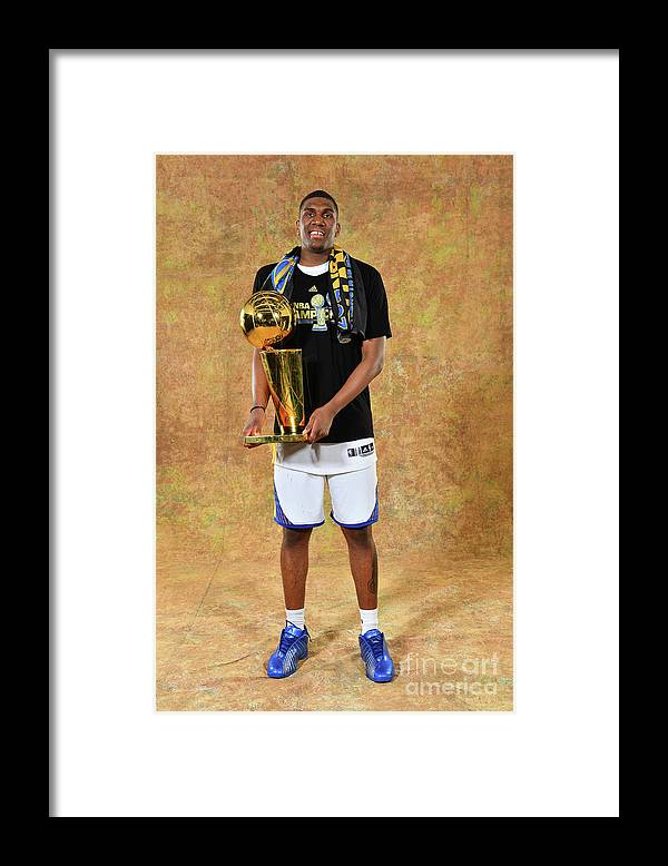 Playoffs Framed Print featuring the photograph Kevon Looney by Jesse D. Garrabrant