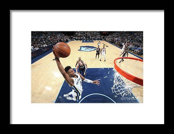 Nba Pro Basketball Framed Print featuring the photograph Kobi Simmons by Joe Murphy