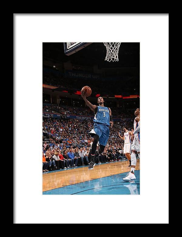 Nba Pro Basketball Framed Print featuring the photograph Kris Dunn by Layne Murdoch