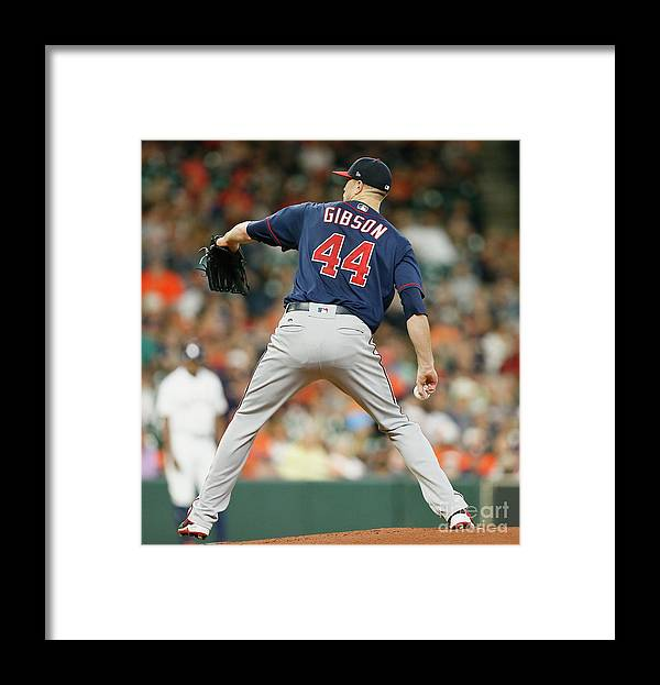 People Framed Print featuring the photograph Kyle Gibson by Bob Levey
