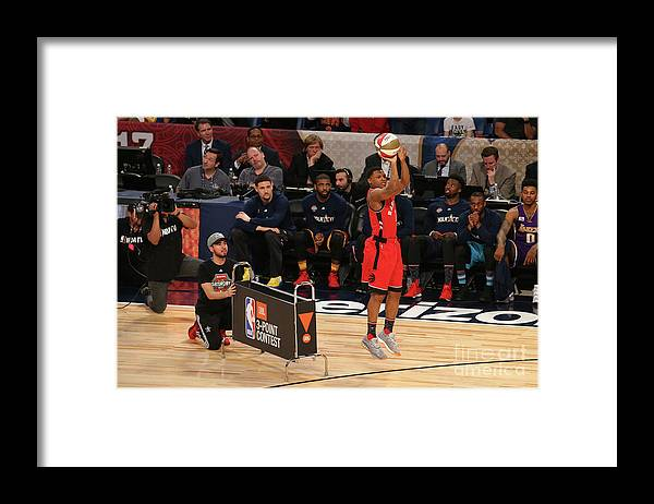 Event Framed Print featuring the photograph Kyle Lowry by Gary Dineen