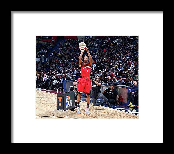 Event Framed Print featuring the photograph Kyle Lowry by Nathaniel S. Butler