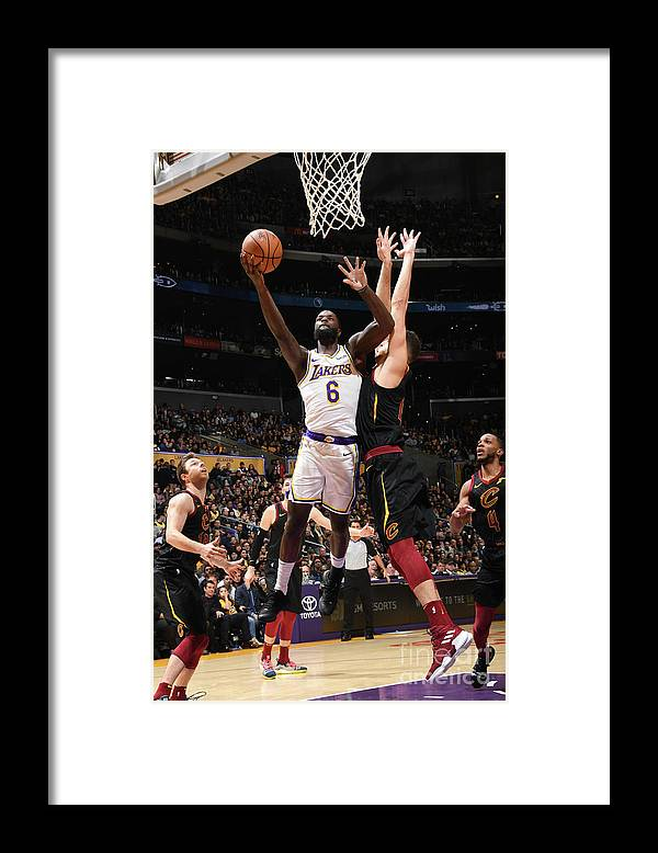 Nba Pro Basketball Framed Print featuring the photograph Lance Stephenson by Andrew D. Bernstein