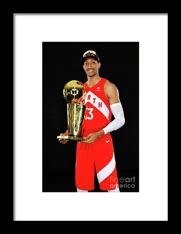 Playoffs Framed Print featuring the photograph Larry Miller by Jesse D. Garrabrant