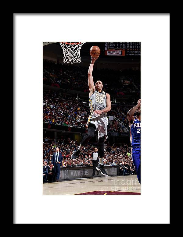 Nba Pro Basketball Framed Print featuring the photograph Larry Nance by David Liam Kyle