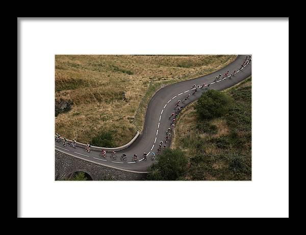 Charente Framed Print featuring the photograph Le Tour de France 2015 - Stage Fifteen by Doug Pensinger