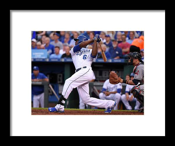 People Framed Print featuring the photograph Lorenzo Cain by Ed Zurga