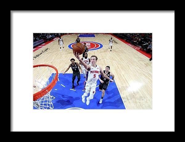 Nba Pro Basketball Framed Print featuring the photograph Luke Kennard by Brian Sevald
