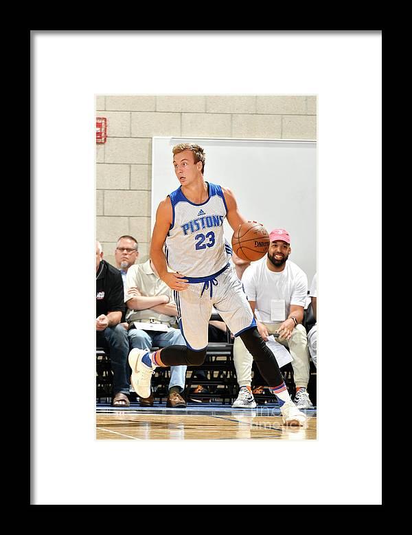 Nba Pro Basketball Framed Print featuring the photograph Luke Kennard by Fernando Medina