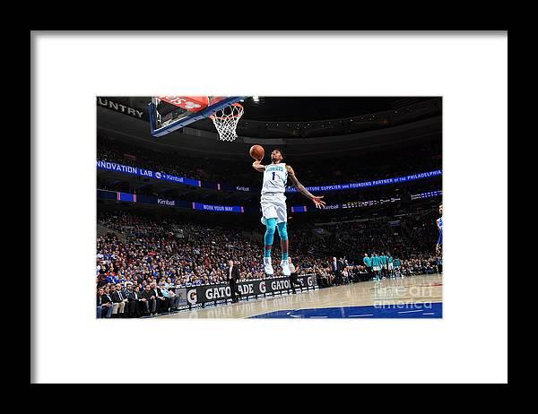 Sports Ball Framed Print featuring the photograph Malik Monk by Jesse D. Garrabrant