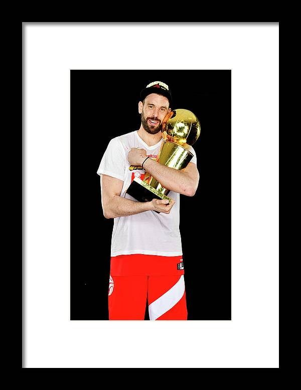 Playoffs Framed Print featuring the photograph Marc Gasol by Jesse D. Garrabrant