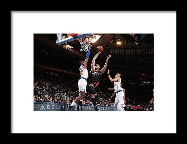 Nba Pro Basketball Framed Print featuring the photograph Marc Gasol by Nathaniel S. Butler